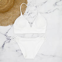 即納 A-string reversible long under bikini Off white