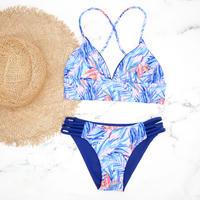 即納 A-string reversible long under bikini Pinky blue