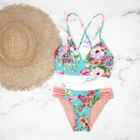 即納 A-string reversible long under bikini Bright