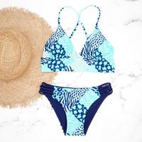 即納 A-string reversible long under bikini Combined pattern