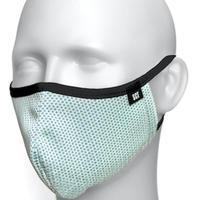 長時間着用が楽-2020放熱通気マスク【日本製】スーパークーリングマスク(放熱・吸熱・遮熱・紫外線カット・抗菌防臭)【ミントグリーン】