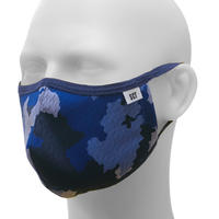 長時間着用が楽-2020放熱通気マスク【日本製】スーパークーリングマスク(放熱・吸熱・遮熱・紫外線カット・抗菌防臭)【カモフラージュ】