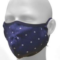 2020放熱冷却マスク【日本製】スーパークーリングマスク/テラックスクール(放熱・吸熱・遮熱・吸水発冷・接触冷感・紫外線カット・抗菌防臭)夏用マスク【ドット】