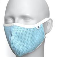 2020放熱通気マスク【日本製】スーパークーリングマスク/テラックスクール(放熱・吸熱・遮熱・吸水発冷・接触冷感・紫外線カット・抗菌防臭)密-対応マスク【ポリゴナル】