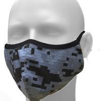 2020放熱冷却マスク【日本製】スーパークーリングマスク/テラックスクール(放熱・吸熱・遮熱・吸水発冷・接触冷感・紫外線カット・抗菌防臭)夏用マスク【デジカモ】
