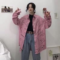 シャツ レディース ブラウス トップス カジュアル おしゃれ 長袖 春 秋 2033