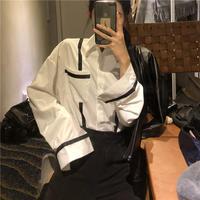 シャツ レディース ブラウス トップス カジュアル おしゃれ 長袖 春 秋 2023