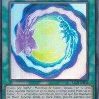 スペイン語版 LED4-SP048 Lunalight Fusion 月光融合 (スーパーレア) 1st Edition