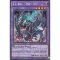フランス語版 FUEN-FR027 Invoked Caliga 召喚獣カリギュラ (シークレットレア) 1st Edition
