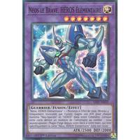 フランス語版 SAST-FR035 Elemental HERO Brave Neos E・HERO ブレイヴ・ネオス (スーパーレア) 1st Edition
