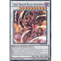 フランス語版 DPDG-FR030 Tyrant Red Dragon Archfiend レッド・デーモンズ・ドラゴン・タイラント (ウルトラレア) 1st Edition