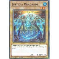 フランス語版 SAST-FR012 Guardragon Justicia 守護竜ユスティア (ノーマル) 1st Edition