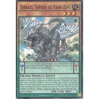 フランス語版 PEVO-FR046 Zefraxi, Treasure of the Yang Zing 宝竜星-セフィラフウシ (スーパーレア) 1st Edition
