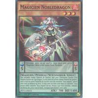 フランス語版 PEVO-FR015 Nobledragon Magician 貴竜の魔術師 (スーパーレア) 1st Edition