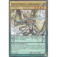 フランス語版 PEVO-FR059 Master Pendulum, the Dracoslayer 竜剣士マスターP (スーパーレア) 1st Edition