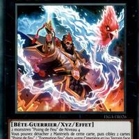 フランス語版 FIGA-FR026 Brotherhood of the Fire Fist - Cardinal 間炎星-コウカンショウ (スーパーレア) 1st Edition