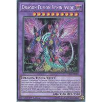 フランス語版 FUEN-FR010 Greedy Venom Fusion Dragon グリーディー・ヴェノム・フュージョン・ドラゴン (シークレットレア) 1st Edition