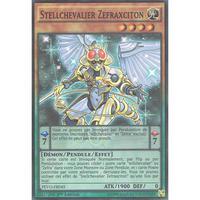 フランス語版 PEVO-FR045 Stellarknight Zefraxciton 覚星輝士-セフィラビュート (スーパーレア) 1st Edition