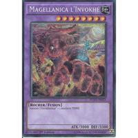 フランス語版 FUEN-FR031 Invoked Magellanica 召喚獣メガラニカ (シークレットレア) 1st Edition