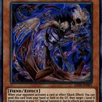 英語版 LED5-EN003 Dark Spirit of Malice 怨念の邪悪霊 (スーパーレア) 1st Edition