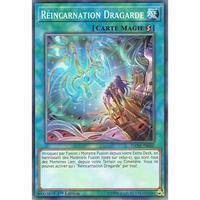 フランス語版 DANE-FR060 Guardragon Reincarnation 転臨の守護竜 (ノーマル) 1st Edition
