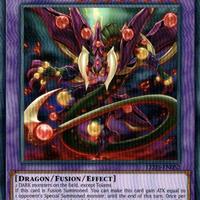 英語版 LED5-EN052 Starving Venom Fusion Dragon スターヴ・ヴェノム・フュージョン・ドラゴン (レア) 1st Edition