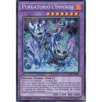 フランス語版 FUEN-FR030 Invoked Purgatrio 召喚獣プルガトリオ (シークレットレア) 1st Edition