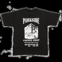 Park Side Coffee Tee Black