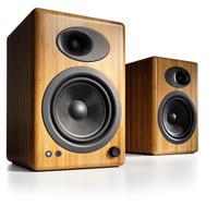 Audioengine・A5+ プレミアム・パワードスピーカー (ソリッドバンブー)