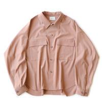 CPO shirt Jacket - Gabardine / Pink