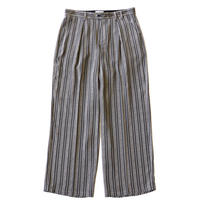 Officer pant - Jacquard / Gray stripe
