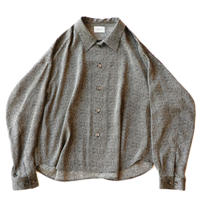 Big shirt Jacket - Jacquard / Gray diamond