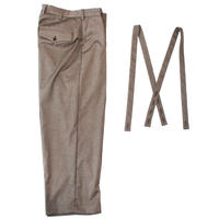 Classic wide trouser - Herringbone