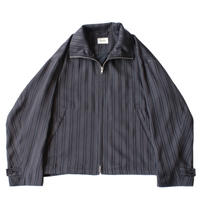 Zip up drizzler jacket - Jacquard / Stripe