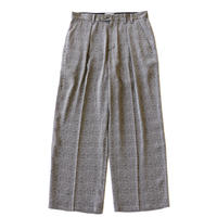 Officer pant - Jacquard / Gray diamond