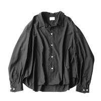 Big shirt  - Gabardine / Black