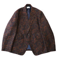2B tailor jacket - Paisley jacquard