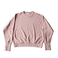 Dolman sleeve sweat / Pink