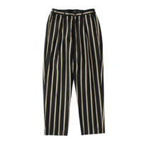 Utility trouser - Tencel stripe / Black