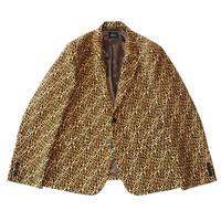 2B tailored jacket - Leopard
