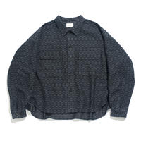 CPO shirt jacket - Jacquard / flower