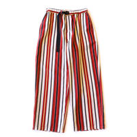 Climbing easy pant -  Multi stripe / Red stripe