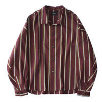 Big shirt jacket - Tencel stripe / Enji