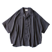 Short sleeve dolman shirt - Jacquard / Stripe
