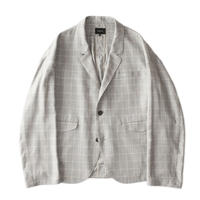 Drop 2B jacket - Glen check / Beige
