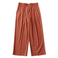 Officer pant  - Gabardine / Orange