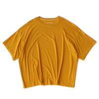 Big Tee - Lyocell Knit / Mustard