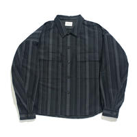 CPO shirt jacket - Jacquard / Stripe