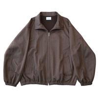 Track jacket - Herringbone jersey / Brown