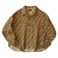 Big shirt jacket 弐 - Leopard